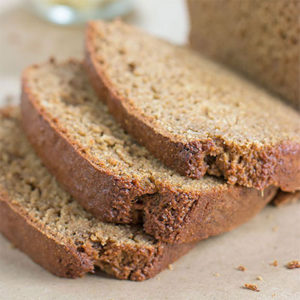 Better For You Banana Bread: Moist & dense with less fat and less calories than traditional recipes | ContraryCook.com
