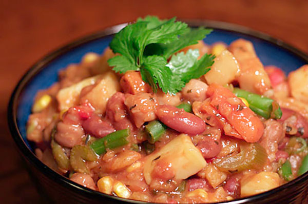 Vegan Vegetable, Barley, and Bean Stew | ContraryCook.co
