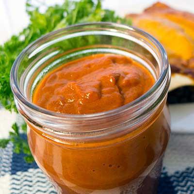 Vegetarian Chipotle Enchilada Sauce | www.contrarycook.com