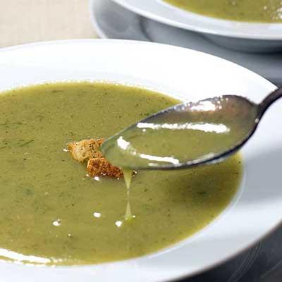 Creamy Yellow Squash and Potato Soup (No Dairy/Vegan)   ContraryCook.com