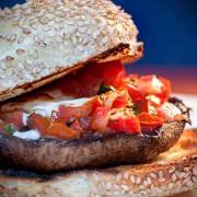 Portabello Mushroom Burger | ContraryCook.com