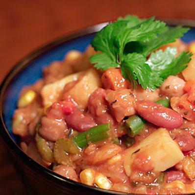 Vegan Vegetable, Barley, and Bean Stew | ContraryCook.co