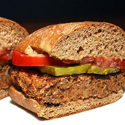 Vegan Veggie Burger | ContraryCook.com